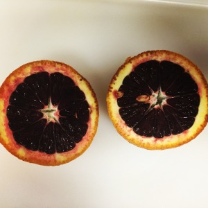 I adore blood oranges.