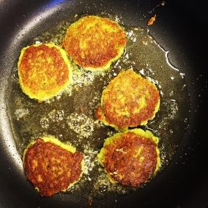 Falafel fry up!
