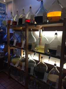 It's like an apothecary's shop inside!