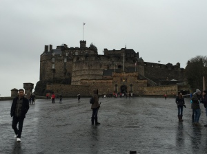 And finally a favorite scene of Edinburgh. The castle as seen from the top of the mile. I think its impossible for me to not be happy here!